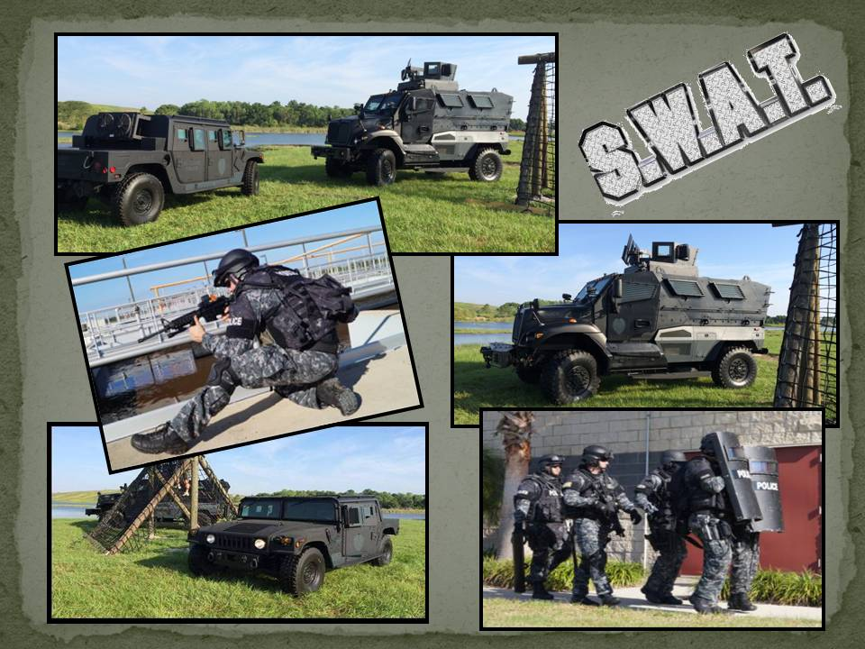 SWAT Team / Armored SWAT Vehicles / SWAT Equipment