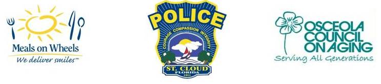 Meals on Wheels / St. Cloud Police / Osceola Council on Aging
