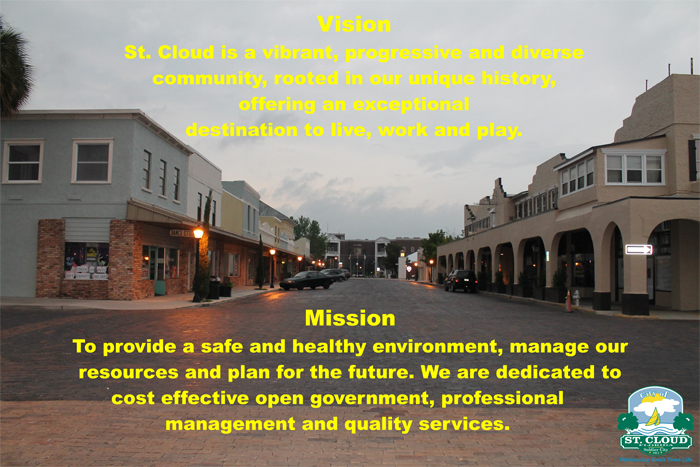 Vision St Cloud is a vibrant progressive and diverse community rooted in unique history