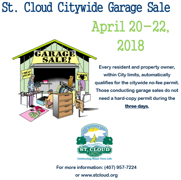 Garage Sale - April 2018