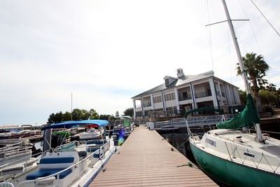 ST CLOUD MARINA BOAT DOCK PHOTO