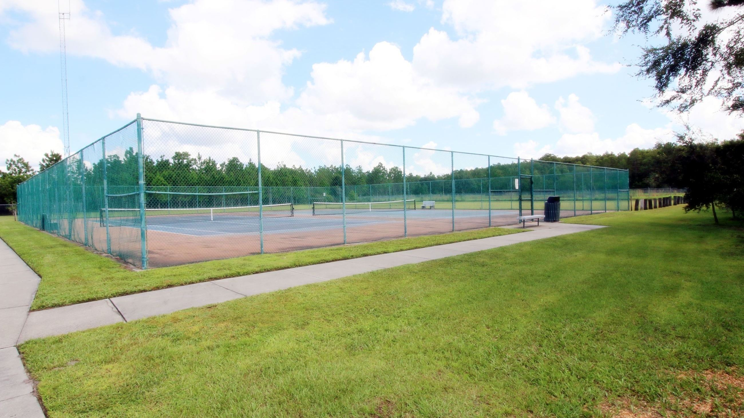 TENNIS COURTS AT TED BRODA MEMORIAL PARK PHOTO
