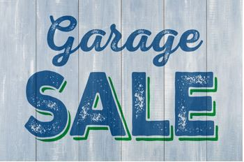 garage sale generic sign