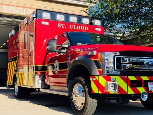 St. Cloud Fire Rescue Truck