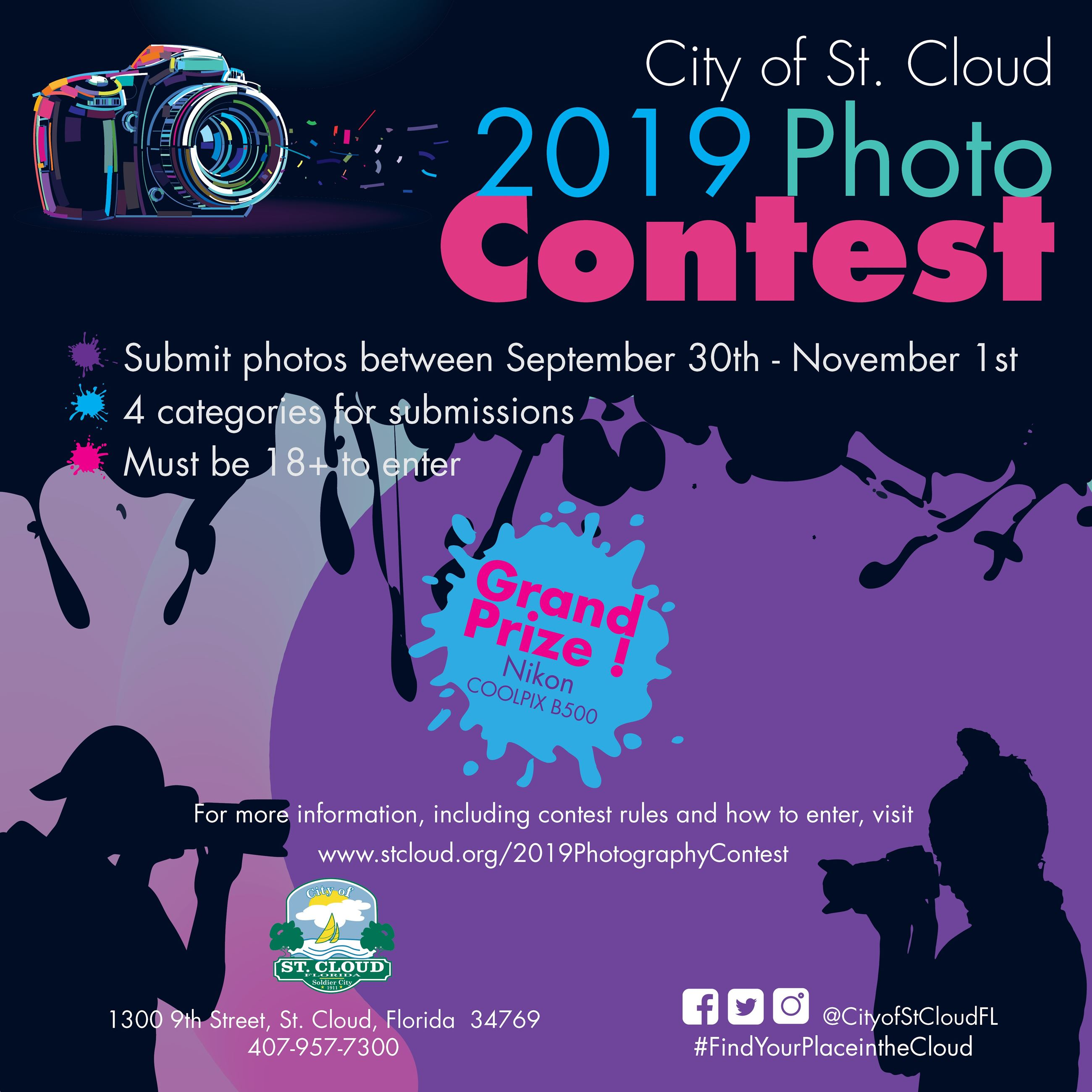 2019 Photo Contest flyer