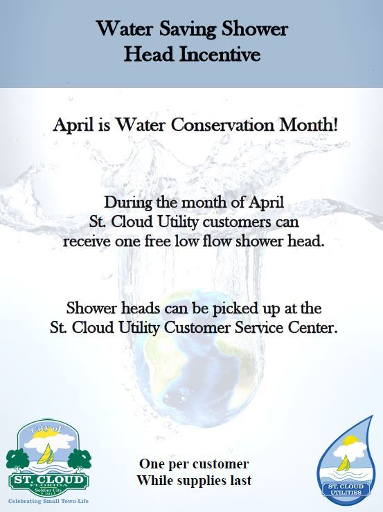 Water Saving Shower Head Incentive