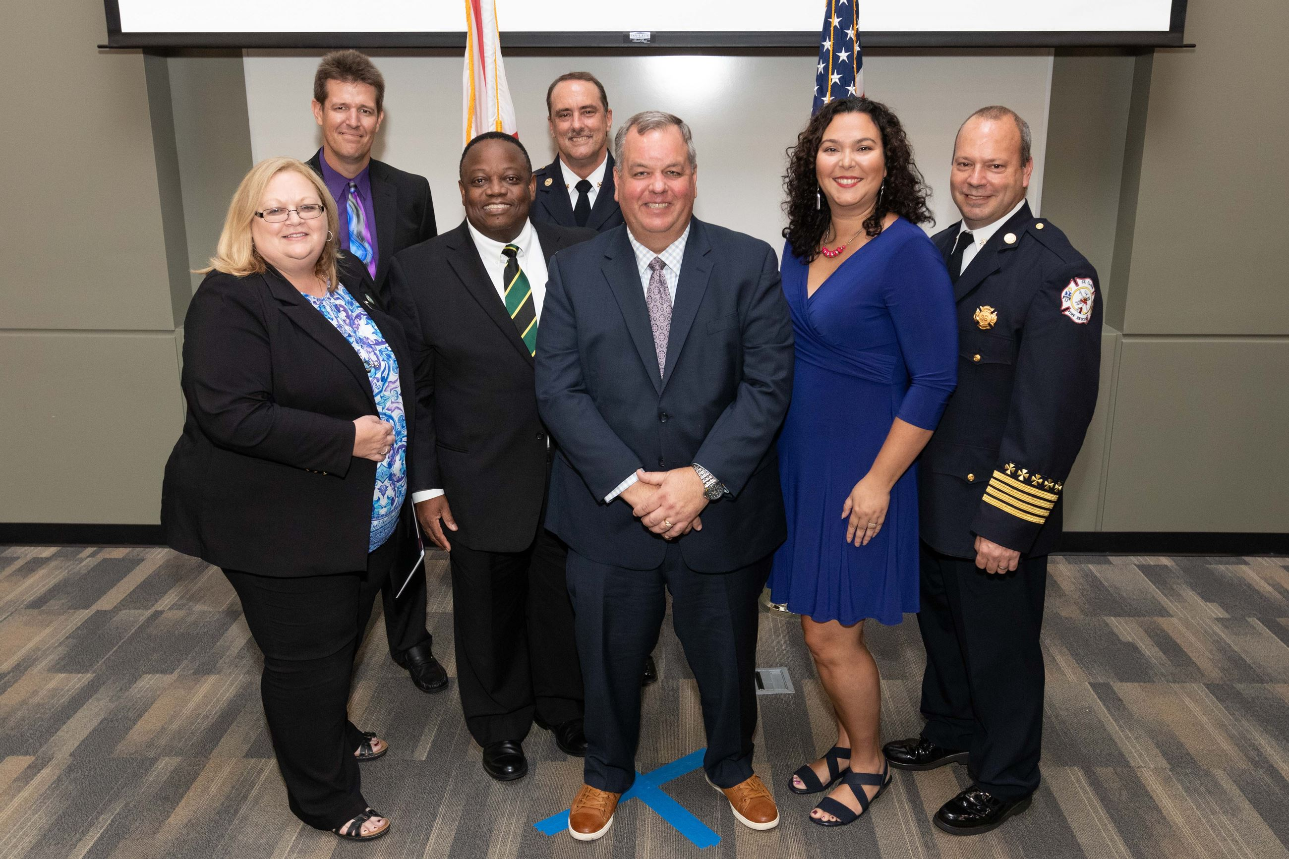 St. Cloud City Leaders at CPM Graduation