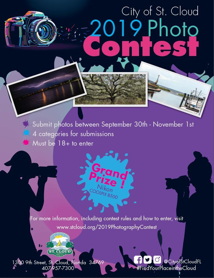 2019 Photo Contest Full Flyer